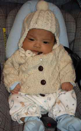 Baby Sweaters and Layettes - Bev's Country Cottage Website