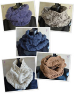 knitting pattern for  best cowls to knit now ebook