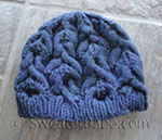 knitting pattern for sumptuously cabled hat