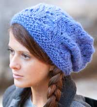 free knitting pattern for montera slouchy hat