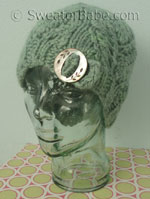 knitting pattern for vintage charmer one-ball hat