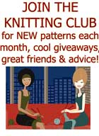 Join the SweaterBabe.com Knitting Club!